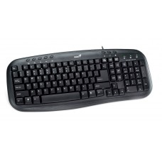 KB-M200, Genius Black Multimedia Keyboard, USB