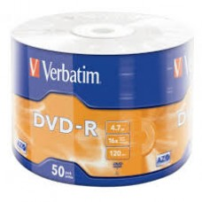 CD-R, Verbatim, 52x 700Mb 50PK Wrap Extra Protection, შეკვრა 50-ცალიანი
